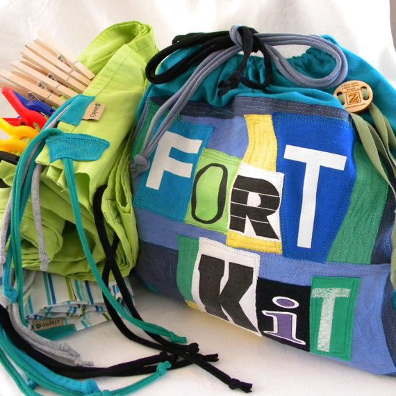 Drawstring Bags for Fort Kits